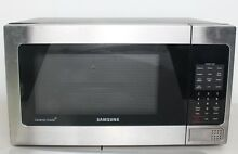 Samsung Counter Top Microwave  1 1 Cubic Feet  Stainless Steel USED   MW23