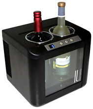 Vinotemp   Il Romanzo 2 Bottle Wine Cooler   Black
