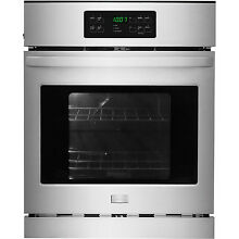 Frigidaire Stainless 24  Electric Single Self Clean Wall Oven ADA FFEW2425QS