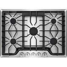 Frigidaire Gallery Stainless Steel 30  5 Burner Gas Cooktop FGGC3047QS