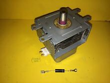 WB27X10516 NEW GE  MICROWAVE MAGNETRON REPLACEMENT NIB 90 DAY WARRANTY   DIODE