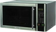 Magic Chef MCM1110ST 1 1 cu ft Countertop Microwave Oven   Stainless Steel