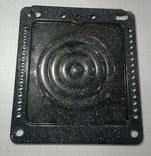 VTG Antique UNIVERSAL Gas Stove Range Mod  8019 Oven Floor Panel Baffle