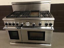 Thermador PGR486GDZS 48  Gas Pro Grand Range 6 Burners   Griddle