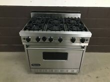 VIKING VGRC365 6BDSS 36  Professional Gas Range Oven 6 Burner Stainless Steel