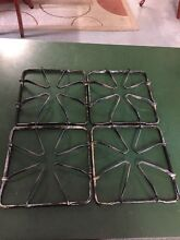 VINTAGE STOVE PARTS Gaffers   Sattler  Gas Range Burner Grate lot parts