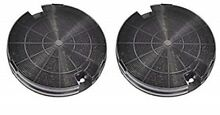 2 x Genuine Rangemaster 110 Oven Cooker Hood Charcoal Filter 6  Diameter Motor
