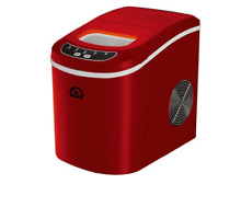 Compact Delux Portable Ice Maker Mini Nugget Soft Counter Top Cube Machine Steel