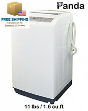 Panda Small Compact Portable Washing Machine Fully Automatic 11lbs PAN50SW