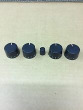 JENN AIR S156 Control Panel Knobs OEM complete convect set