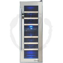 Vinotemp   21 Bottle Wine Cooler   Mirror