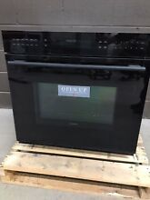 Wolf 30  Single Wall Oven E Series Professional Black SO30 2G B
