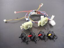 Kenmore Frigidaire Washer Dryer Switch w Harness 137493400 5304500474 137261000