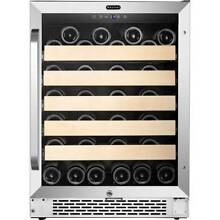 Whynter   54 Bottle Wine Refrigerator   Black