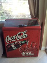 Coca Cola Front loader 8 ounce  bottle Refrigerator