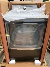 Brand New GE 7 8 Cubic FT GTD86ESPJMC 28  Black Top Load Electric Dryer Steamer
