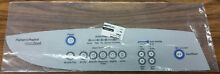 Fisher Paykel Top Load Loading Dryer Silver Console OVERLAY only Part  395804
