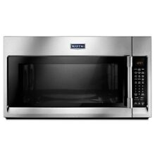 Premium Convection Microwave Over the Range 30 in W1 9 cu ft Kitchen By Maytag