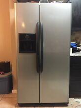 Kenmore Grey Side By Side Refrigerator