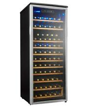 Danby DWC106A1BPDD 24  75 Bottle Single Zone Wine Cooler Stainless Steel
