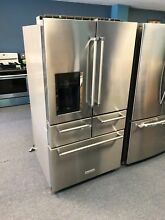 KitchenAid 25 8 Cu  Ft  French Door Refrigerator  MODEL KRMF606ESS