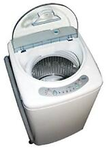Haier Pulsator Washer Portable Electronic Washing Machine Quiet Cycle Top Load