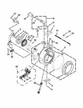 OEM Whirlpool Duet Washer Complete Tub Outer W10608750 WPW10737541