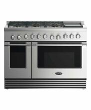 DCS  RDV2486GDL 48 Inch Dual Fuel Range Liquid Propane Stainless Steel