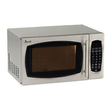 Avanti 0 9 Cubic Foot Capacity Stainless Steel Microwave Oven 900 Watts