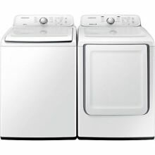 Samsung Top Load 4 0 Washer   7 2 Electric Dryer Set