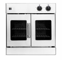 American Range 30  Wall Oven W  Innovection 2 Fan Convection   Stainless Steel