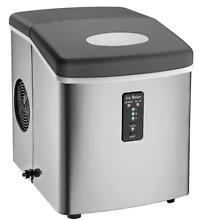 Igloo ICE103 Counter Top Ice Maker with Over Sized Ice Bucket  Stainless Steel
