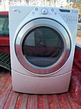 Whirlpool Dryer Duet Steam 7 4 cu ft Stackable Electric Dryer For Parts Only