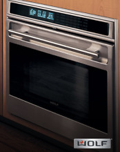 Wolf 30  Single Wall Oven L Series Professional Stainless SO30F S