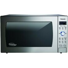 Panasonic 2 2 Cuft Counter Built In Cyclonic Wave Microwave w Inverter Tech
