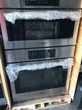 Bosch 30  Conviction Combination  Steam Double Oven HSLP751UC