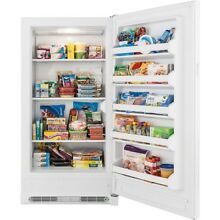 Upright Freezer Heavy Duty Free Standing Large Capacity Storage Bulk Freezing