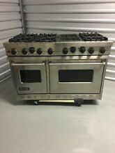 48  Viking Range with 6 Open Burners   VGSC4866QSS   Natural Gas