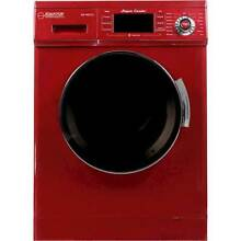 Equator   1 6 Cu  Ft  7 Cycle Washer and Dryer Combo   Merlot