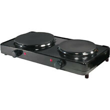 Aroma   Double Burner Hot Plate AHP 312 NG SD