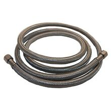 LASCO 10 0958 20 Foot Ice Maker Water Supply Line  Braided Stainless Stee  New