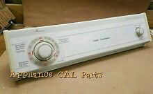 3393934e Whirlpool Dryer console with Timer and knobs