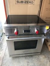 Wolf  IR304PE S PH30  Induction Range Convection in Stainless Steel