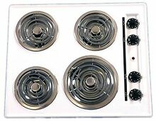 Summit WEL03 Electric Cooktop  White