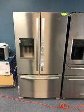 Whirlpool   24 7 Cu  Ft  French Door Refrigerator   Stainless steel