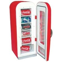 Coca Cola 10 Can Retro Vending Machine Fridge for Home  Office Cooler Dorm