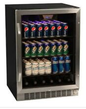 EdgeStar CBR1501SG 24 W 148 Can Built In Beverage Cooler with Tinted Door