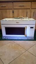 PRICE REDUCED    White Whirlpool Gold Convection Over the Range Microwave Oven