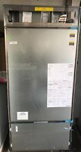 Sub Zero BI36UO 36 Inch Panel Ready Bottom Freezer Refrigerator Right Hinge
