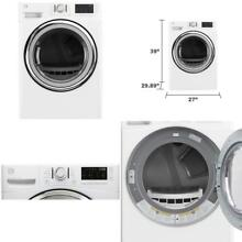 Kenmore 81382 7 4 Cu  Ft  Electric Dryer With Steam In White  Includes Delivery